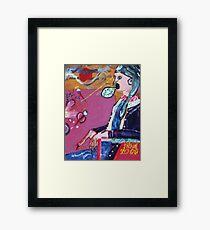 Space Worm killer 2000 Framed Print
