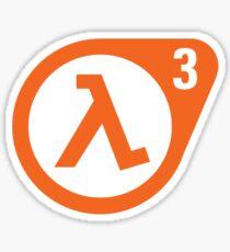 Half Life 3 Sticker