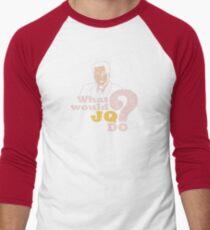 WWJQD? (distressed) T-Shirt