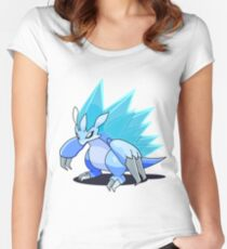 Alola Sandslash Women's Fitted Scoop T-Shirt