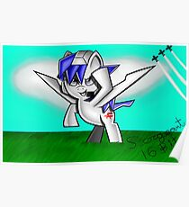 Arwing Pony Poster