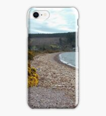 Driftwood on Loch Ness Beach  iPhone Case/Skin