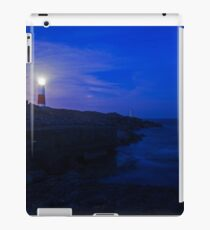 Portland Bill Lighthouse at dusk iPad Case/Skin