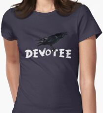 The Devotee's Crow Women's Fitted T-Shirt