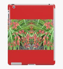 Red Lily Mirror Photo iPad Case/Skin