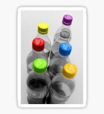 Cola Bottles  Sticker