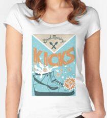 K/CKS Women's Fitted Scoop T-Shirt