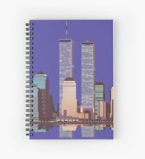 Memoirs of the World Trade Center Spiral Notebook