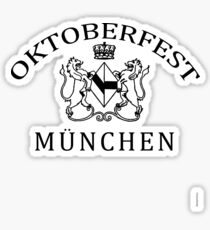 OKTOBERFEST MUNICH MUNCHEN Sticker