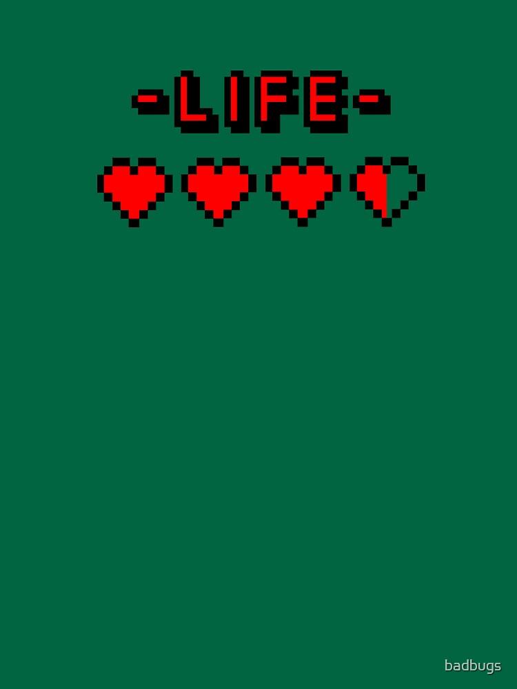 8-bit gamer lifebar von badbugs
