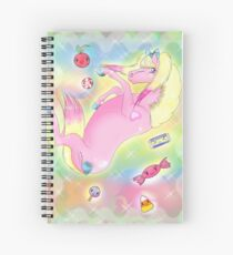 ✨ candy falling ✨  Spiral Notebook