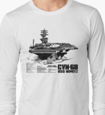 Aircraft carrier Nimitz Long Sleeve T-Shirt