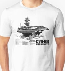 Aircraft carrier Nimitz T-Shirt