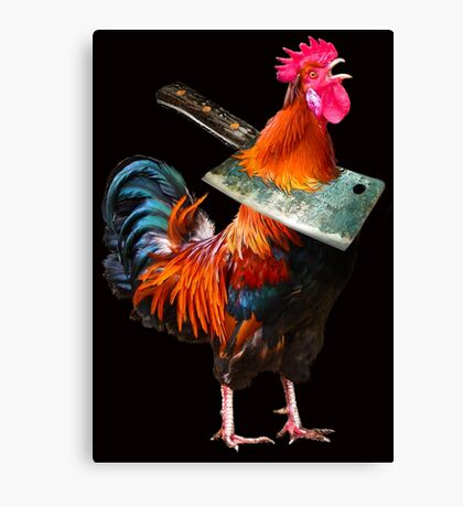 Mr Red Rufus No-Crow Canvas Print
