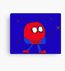 Spider Mooky Canvas Print