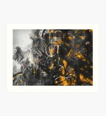 Firefighter - Courage for battling the Beast Art Print