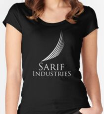 Sarif Industries (Inspired by Deus Ex) Women's Fitted Scoop T-Shirt