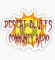 Desert Bluffs Community Radio Sticker