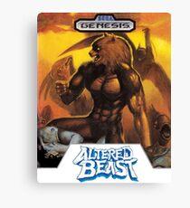 Sega Altered Beast Transparent  Canvas Print