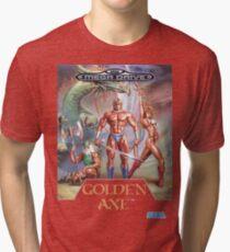 Sega Golden Axe Transparent  Tri-blend T-Shirt