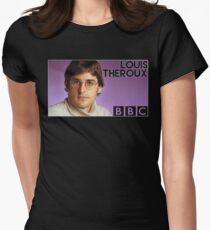 Louis Theroux BBC  Women's Fitted T-Shirt