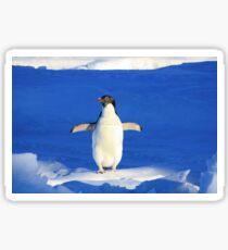 Penguin Hug Sticker