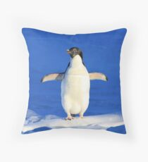Penguin Hug Throw Pillow