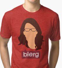 Liz Lemon - Blerg Tri-blend T-Shirt