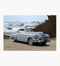 1951 Chevrolet Deluxe 2-Door Hardtop Photographic Print