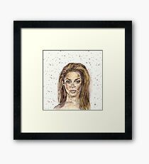 Beyonce is Music Framed Print