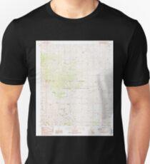 USGS TOPO Map Arizona AZ Beargrass Basin 310416 1989 24000 T-Shirt