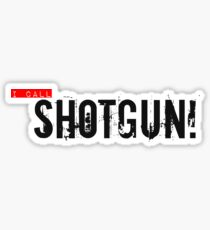 Shotgun! Sticker