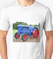 Blue & red tractor T-Shirt