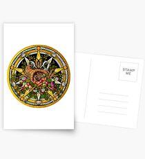Sabbat Pentacle for Mabon the Autumnal Equinox Postcards