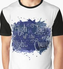 High Lady of the Night Court Graphic T-Shirt