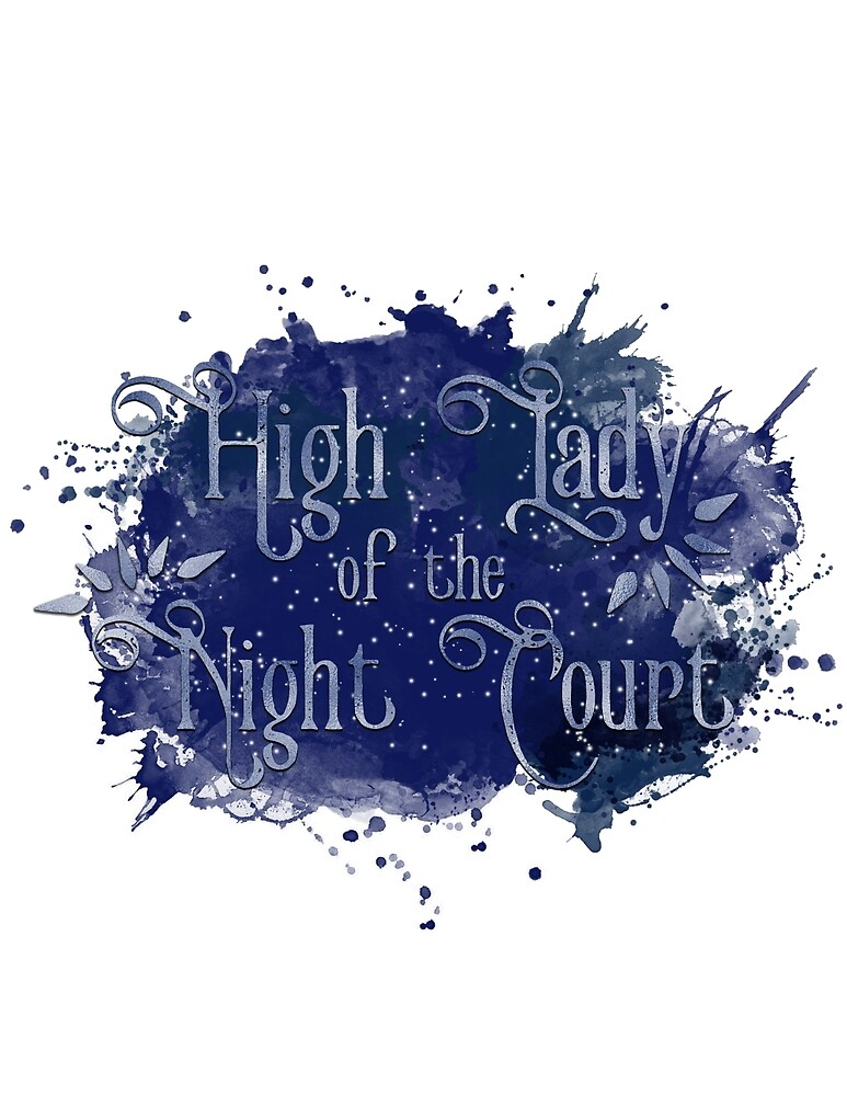 High Lady of the Night Court by Sonja-Caroline