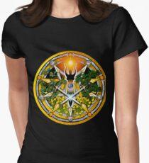 Sabbat Pentacle for Litha, the Summer Solstice Women's Fitted T-Shirt