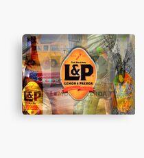 Lemon and Paeroa - L&P Canvas Print