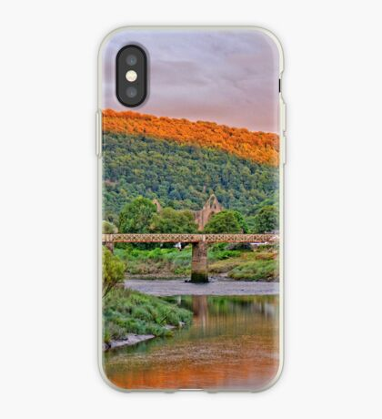 12th century Tintern Abbey, in Wales iPhone Case