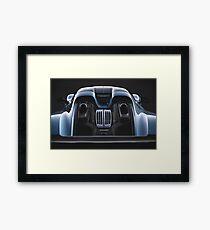 Liquid Metal - Porsche 918 Spyder Framed Print