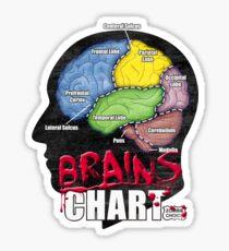 Brains Chart Sticker