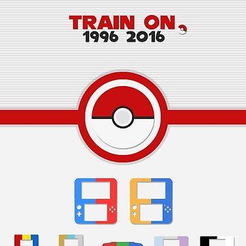Train On - Pokemon by CuriousityShop