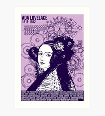 Illustrating Great Minds - Ada Lovelace Art Print