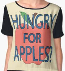 Hungry for apples? Chiffon Top