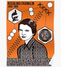 Illustrating Great Minds - Rosalind Franklin Poster
