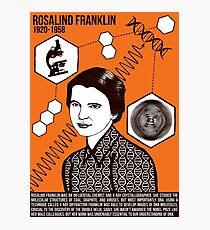 Illustrating Great Minds - Rosalind Franklin Photographic Print