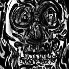 Skull drawing -(151215)- iPad/Zen brush App. by paulramnora