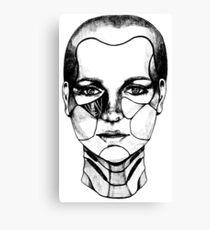 Cyber Girl Canvas Print