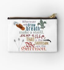 The Musketeers - We Are the Garrison Studio Pouch