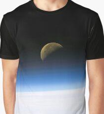 Moonrise from orbit Graphic T-Shirt